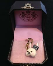 NIB Juicy Couture New & Genuine Gold Limited Edition Bunny Mask Charm YJRU4766
