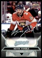 2020-21 UD MVP Super Script #165 Keith Yandle /25 - Florida Panthers
