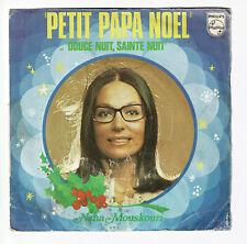 Nana MOUSKOURI Vinyle 45T PETIT PAPA NOËL -DOUCE NUIT SAINTE N. -PHILIPS 6042026