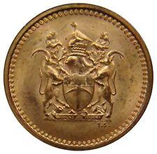 (M84) - Rhodesien Rhodesia - 1 Cent 1970 - Staatswappen - UNC - KM# 10
