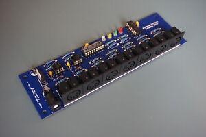 MIDI MERGER / SPLITTER 2 in -> 5 out thru Complete DIY Kit midithru box