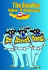 The Beatles Yellow Submarine Bulldogs Postcard 100% Genuine Official Merchandise