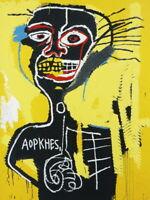 V7900 Jean Michel Basquiat Untitled Cabeza Painting Art WALL PRINT POSTER AU