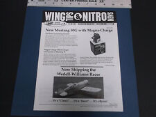 1994 BYRON ORIGINALS WING TIPS & NITRO NEWSLETTER WEDELL-WILLIAMS RACER *G-COND*
