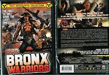 1990 Bronx Warriors New DVD From Shriek Show Sci Fi Fred Williamson Vic Morrow
