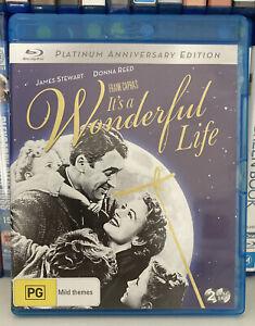It's A Wonderful Life (1946) BLU-RAY, REGION B, Like New!