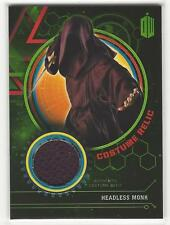 HEADLESS MONK  2016 Topps BBC DOCTOR WHO Robe Costume Relic 366/499