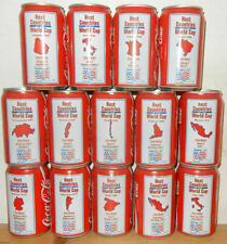1994 COCA COLA 14 cans WORLD CUP SOCCER set from HOLLAND (33cl)
