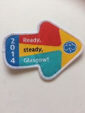 Vintage Ready steady Glasgow 2014  Woven For  Rainbows, Brownies & Guides