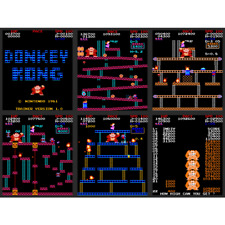 Donkey Kong Remix, Deranged and PACE High Score Save Kit for your Arcade Game