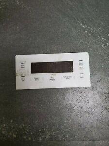 Refrigerator Dispenser Control Board with White Overlay ACQ87420604