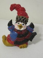 Paul Bolinger Penguin In Hat Figurine House of Hatten Rare PFB Collection