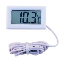 LCD-Digital-Thermometer für Kühlschrank / Aquarium / Fish Tank Temperatur Weiß