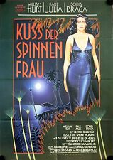 Der Kuss der Spinnenfrau Filmposter A1 Kiss of the Spider Woman Hurt, Raul Julia
