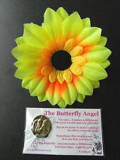 GUARDIAN ANGEL BUTTERFLY ENCOURAGEMENT CHANGE KEEPSAKE CHARM UNUSUAL GIFT CARD