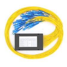 SC/UPC 1x32 Fiber Optic PLC Splitter  Singlemode SM Fiber pigtails FBT Splitter