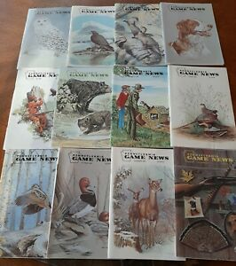 PA PENNSYLVANIA GAME NEWS  MAGAZINES ISSUES COMPLETE YEAR 1983