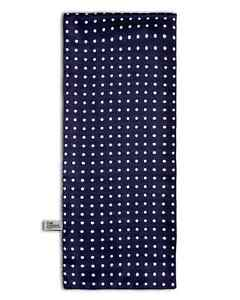 Men's Polka Dot Scarf in Classic Blue and White  - The Westminster