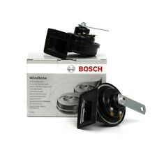 BOSCH Fanfare Hupe Horn Signalhorn Set 0986AH0503 VW Bora Golf 4 Lupo Polo 6N