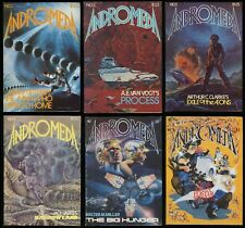 Andromeda Comic Set 1-2-3-4-5-6 Lot Similar to Alien Encounters & Alien Worlds