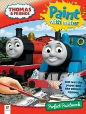NEW. THOMAS & FRIENDS. PAINT WITH WATER. 9781743633014