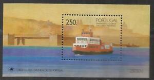 Portugal 1989 - Lisboa Transports, River Boat S/S MNH