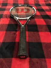 Wilson nCode N Six-Two Oversize Strung Tennis Racket Racquet 4-1/2