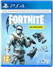 Sony PlayStation P4readwar21903 Fortnite Deep Freeze Bundle for Ps4