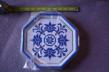 "Vintage NOS NuTone Door Chime LA-37D ""Delft"" Blue White Midcentury"