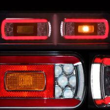 2 LED Rückleuchten für Anhänger Fahrradträger Heckleuchten Wohnwagen 12V 24V TOP