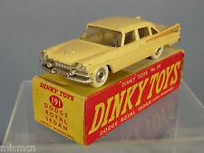 Dinky toys modèle n ° 191 dodge royal sedan VN MIB