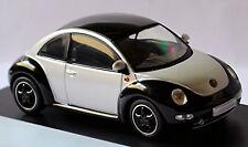 VW Volkswagen New Beetle Tipo 9C 1997-2005 Negro/Plata Metálico 1:43 Schuco