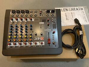 Allen & Heath ZEDi-10 Compact Hybrid Mixer/USB Interface