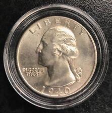 1940-D Washington Quarter Dollar Gem UC C-1045