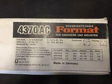 Format Stabelektroden für Verbindungsschweißungen 4370 AC 2,5 x 300 MM 217 Stück