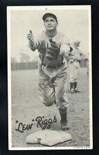 LEW RIGGS  1936 GOUDEY R314 WIDE PEN PREMIUMS