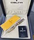 Delta Stantuffo Italia Limited Edition Fountain Pen /38 DV80290 RARE!!!
