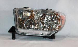 Headlight Left TYC 20-6848-00