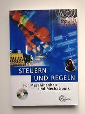 Steuern und Regeln für Maschinenbau und Mechatronik mit CD-ROM (2010, Taschenbuc