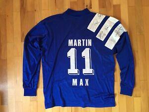 Schalke 04 Ich Bin Ein Schalker Autogramme #11 Martin Max Trikot Shirt Jersey XL