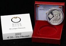Österreich 20 Euro 2002 Die Neuzeit PP