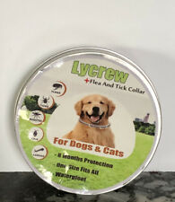 Lycrew Dog & Cat Flea and Tick Collar - 8 Month Protection - One Size Fits All