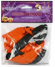 Casa Embrujada Pack de 20 Globos Calabaza Calavera Decoración Fiesta De Halloween