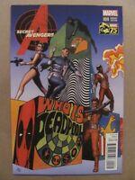 Secret Avengers #9 Marvel Steranko Cover Swipe Deadpool 1:25 Variant 9.6 NM+