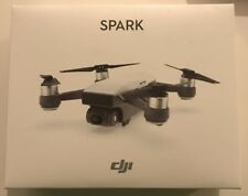 DJI Spark Alpine White Quadcopter Drone 12MP 1080p WIFI Video HD Shooting Camera