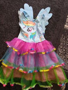 Girls my little pony Dress Up costume Dress 3-4 Yrs