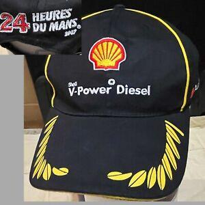 SHELL V POWER DIESEL 2007 LE MANS 24 AUDI Sport Hat Cap 24 HEURES DU MANS - VGC