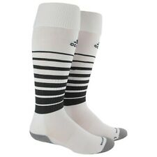 Adidas Team Speed Soccer Socks Climacool Formation White Size Large 9-13M/10-12W
