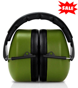 Highest NRR 37dB Ear Muffs Hearing Noise Reduction Protection Shooting Safety