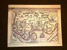 Mappa Thietmarsia Theatrum Orbis Terrarum 1724 Abraham Ortelius Ortelio Ristampa